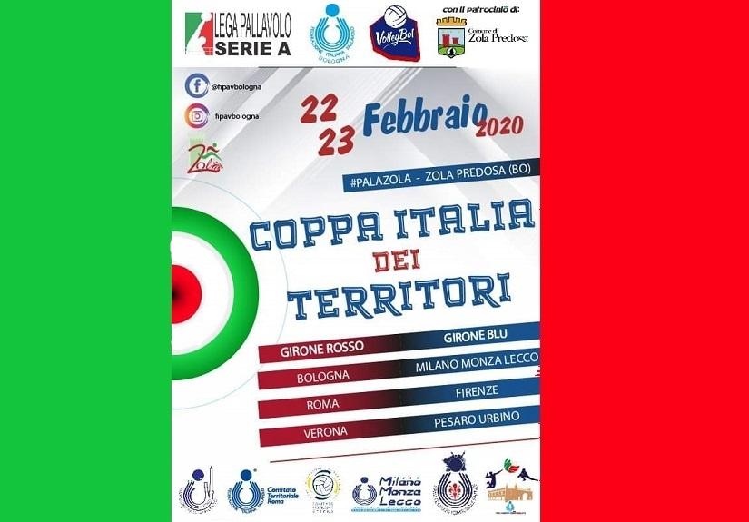IAttività di Qualificazione Territoriale Maschile (2005) - Convocazione atleti Coppa Italia dei Territori del 22-23/02/2020