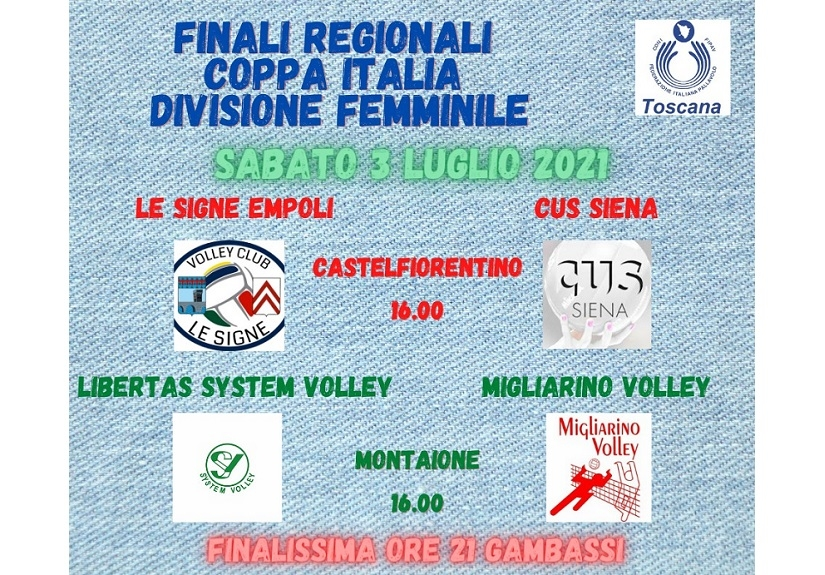 IFinale regionale Divisione Femminile
