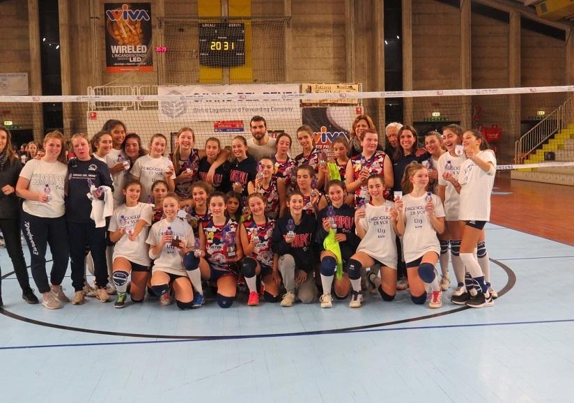 ISavino del Bene Volley Scandicci Campione Territoriale Under 13 Femminile 2019/2020
