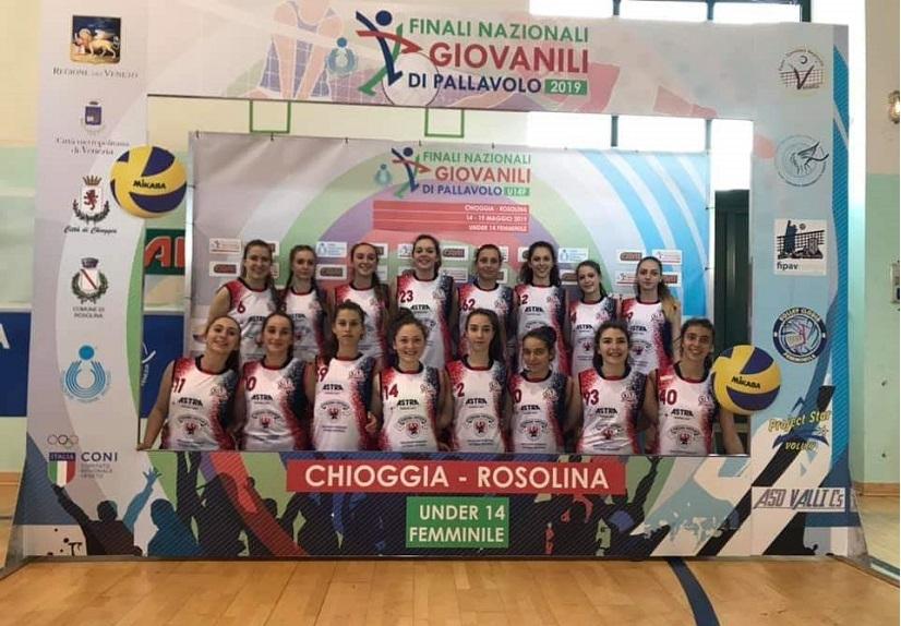 IEuroripoli Volley chiude al 12° posto le Finali Nazionali Under 14 Femminili