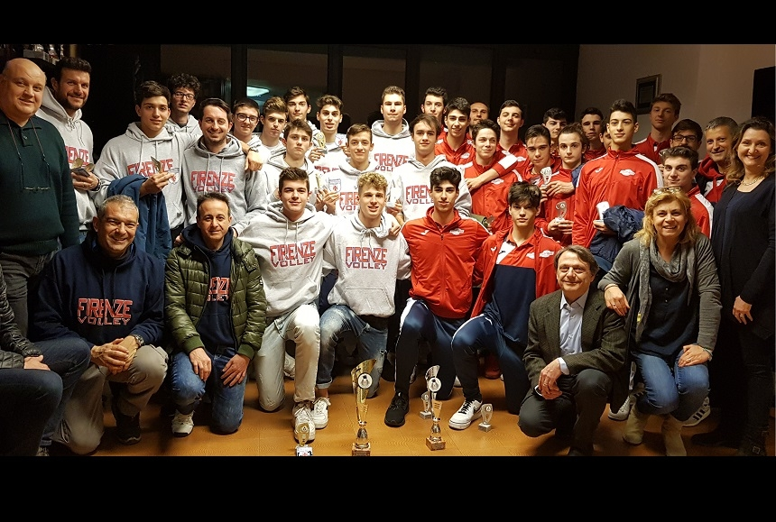 IFirenze Volley Campione Territoriale U18M 2018/2019 - Seconda classificata Volley Prato