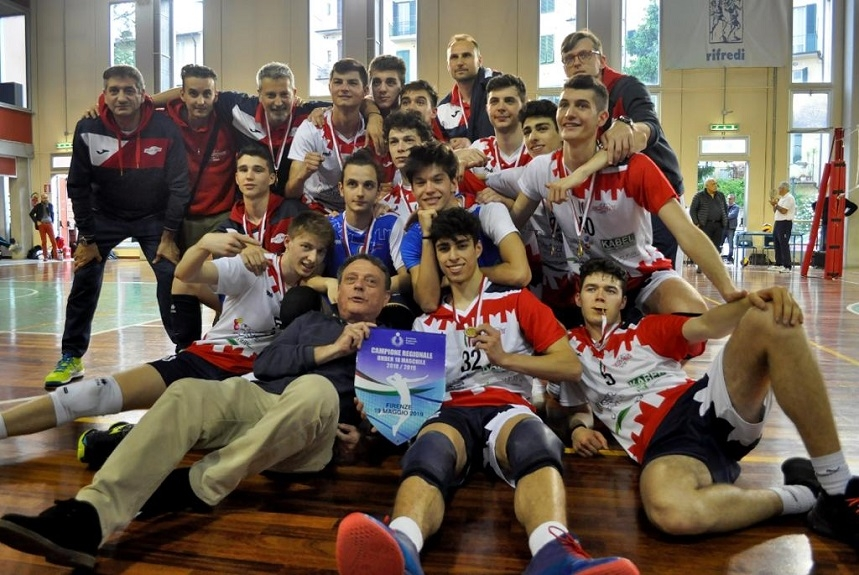 IVolley Prato Campione Regionale U18M